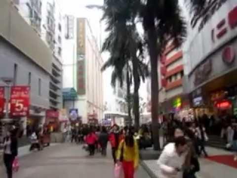 Dongmen Shopping Street in Luohu, Shenzhen 东门,深圳