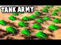 BIGGEST TANK BATTLE! Tank Army Destroys the Enemy Base! (Army Men of War - MOWAS 2 Mod)