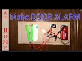 How to make DOOR ALARM at home!!! |GADGETS FOR FUN