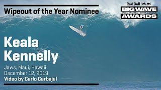 Keala Kennelly at Jaws | WIPEOUT OF THE YEAR AWARD NOMINEES - Red Bull Big Wave Awards
