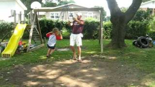 Awesome Homemade Swing