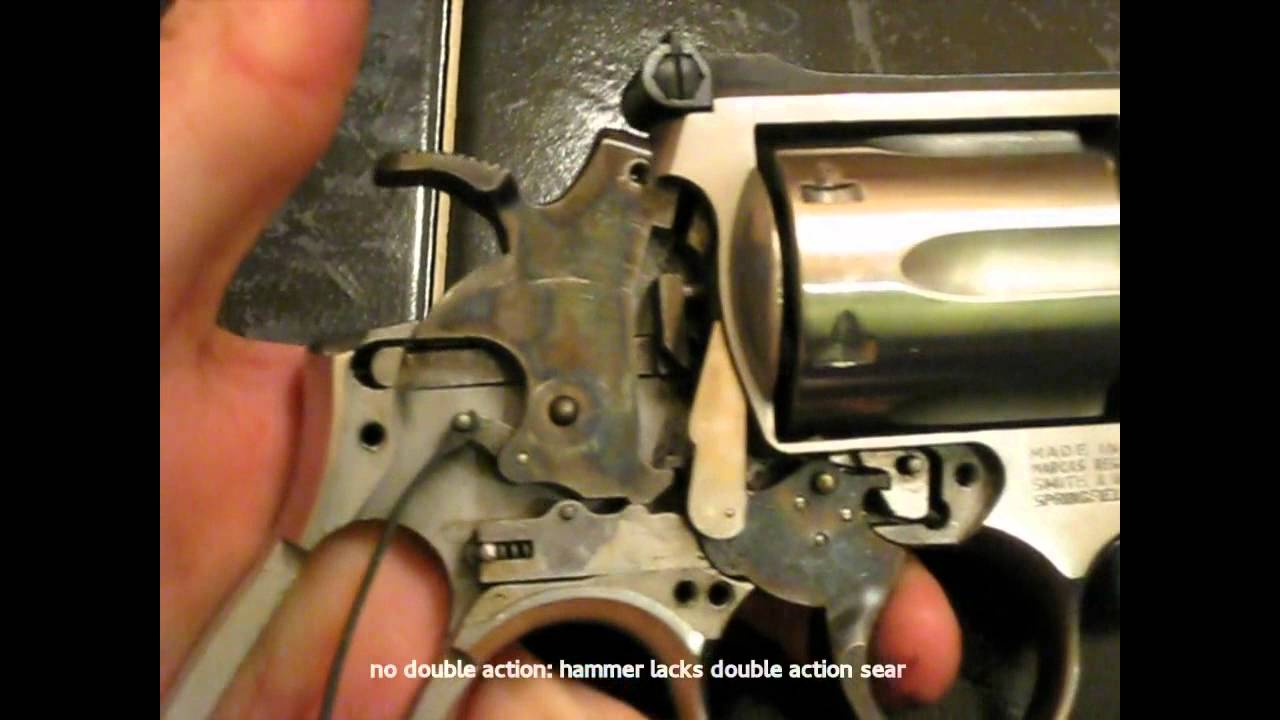 S&W Trigger Action: Single Action Only