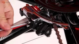 Инструкция. Сборка велосипеда. Часть 8. Передний переключатель(В этом видео мы расскажем как правильно настроить передний переключатель. Подписывайтесь на канал ;) Заходи..., 2016-04-04T03:50:00.000Z)