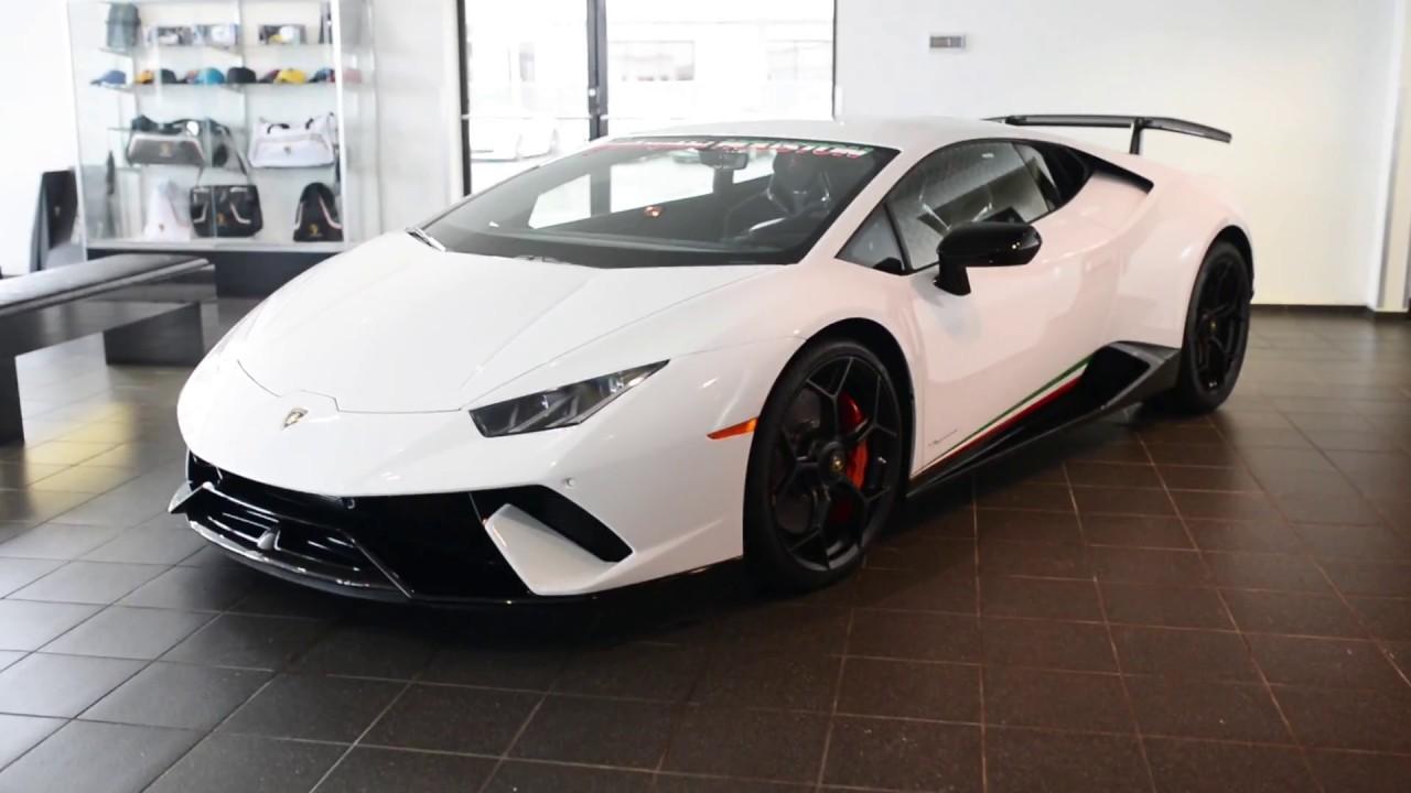 First Lamborghini Huracán Performante In The US
