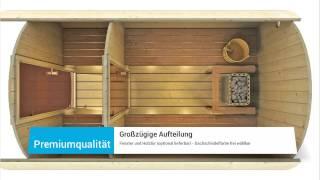 saunafass 330 premium von finn art blockhaus. Black Bedroom Furniture Sets. Home Design Ideas