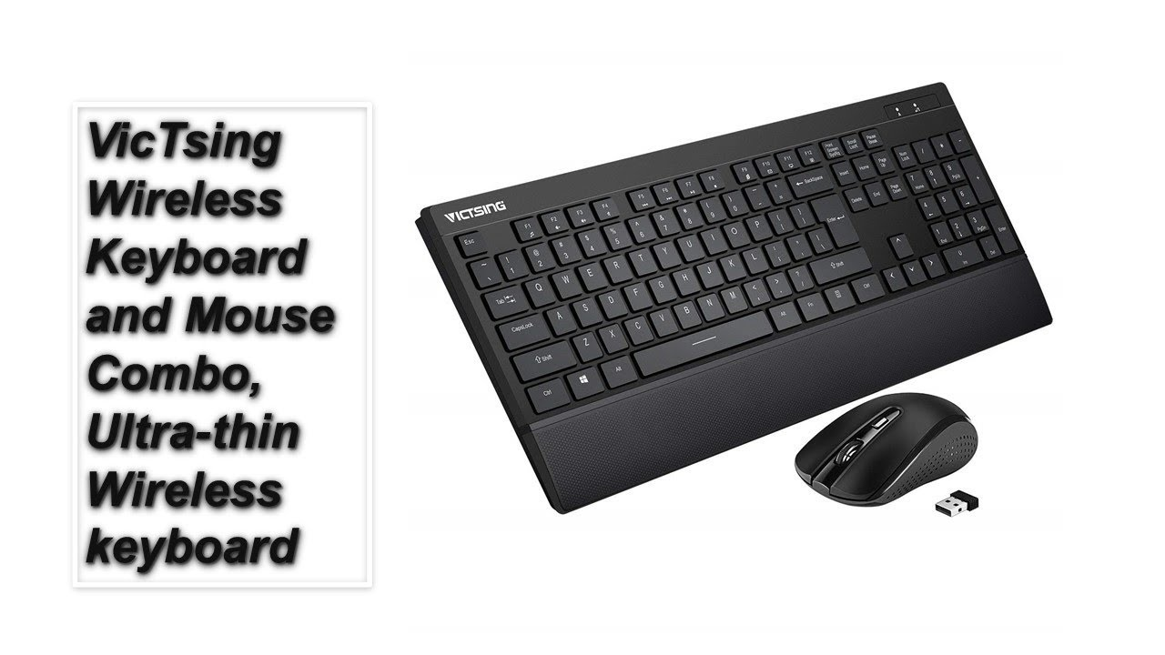 9f2f41079ce VicTsing Wireless Keyboard and Mouse Combo| Tech Market Support ...