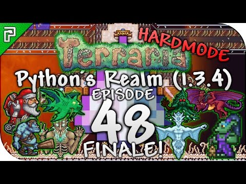 Terraria 1.3.4 Let's Play | The Final Ultimate Showdown! (FINALE!) | Python's Realm [Episode 48]
