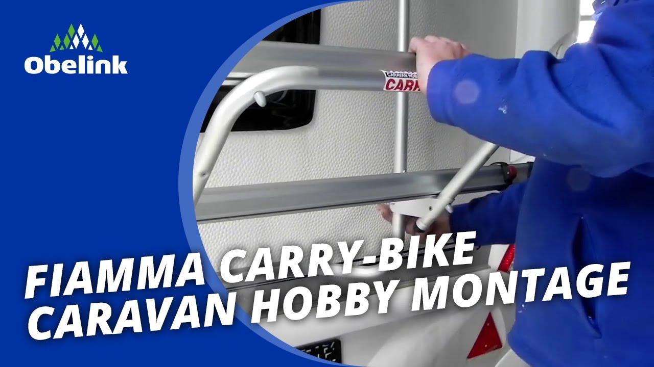 Fiamma Carry Bike Caravan Hobby Montage Instructie Hoe
