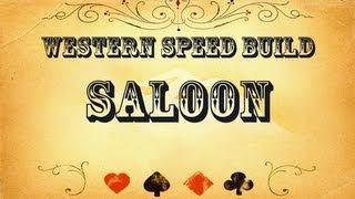 "Western Speed Build | Terraria | ""saloon"" #1"