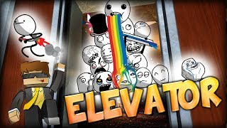 Elevator Party Goes Wrong? - Trailer (GMOD Elevator COOP)