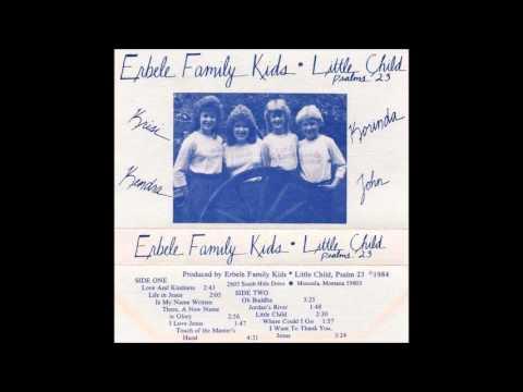 I Want To Thank You, Jesus : Erbele Family Kids