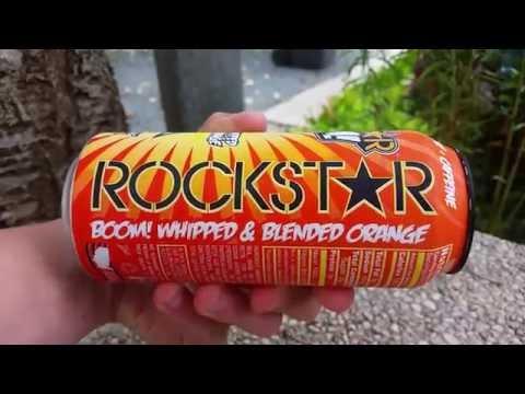 LET´S DRINK: ROCKSTAR BOOM! WHIPPED ORANGE (USA)