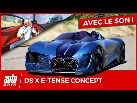 """DS X E-Tense : l'essai sur piste du concept-car """"Double-Face"""""""