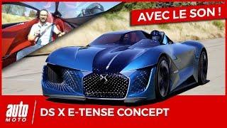 DS X E-Tense : l'essai sur piste du concept-car