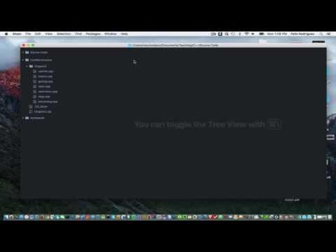 Setup Atom text editor to use C++