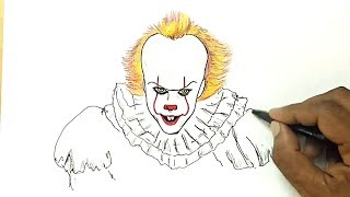 How to Draw the Clown from IT