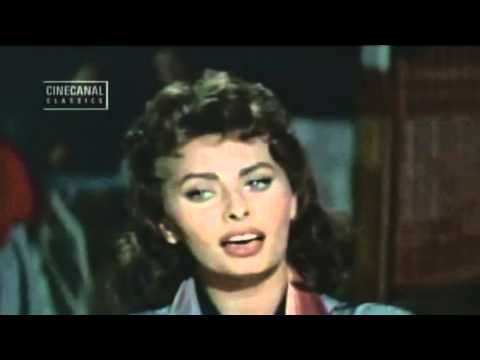 Sophia Loren - Singing Greek! - What is this, who will say love..