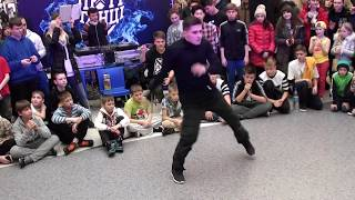 Люті танці - Судейский выход: Bboy Tean (Роман Тиновский) - Брейкинг (breaking)