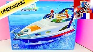 Playmobil Summer Fun 5205 Yacht de luxe - Super bateau à deux étages - Unboxing