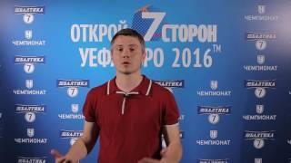 Владимир Стогниенко: UEFA EURO 2016
