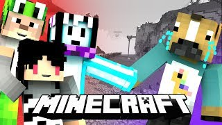 SALING MENJATUHKAN TEMAN! ft.4 Brother - Minecraft Minigames
