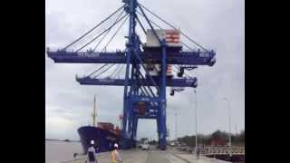Proses Bongkar Muat Container TPK PALARAN_1