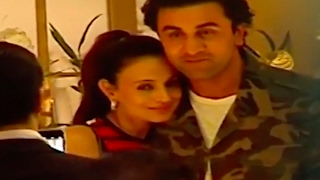 Ameesha Patel BONDS with Ranbir Kapoor @ Randhir Kapoor's 70th Birthday Bash