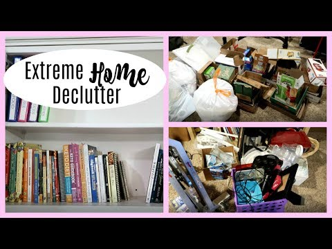 Extreme Home Declutter! Before & After