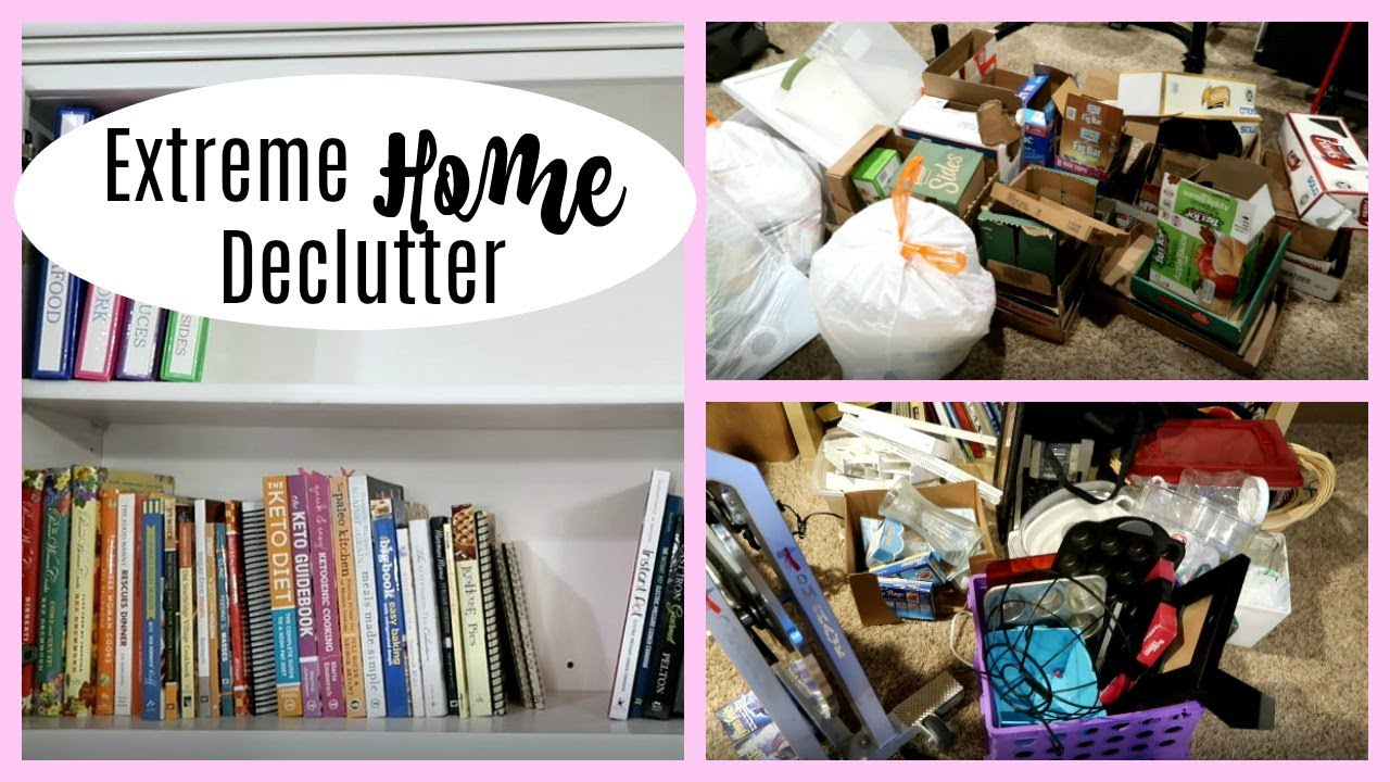 Extreme Home Declutter Before After Youtube