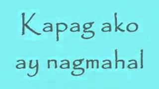 Kapag ako ay nagmahal Jolina Magdangal w LYRICS HIGH QUALITY YouTube