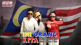 Shajiry & Jeff A To Z, Feat Adam J. Tan  - Ini Orang Kita (official Music Video)