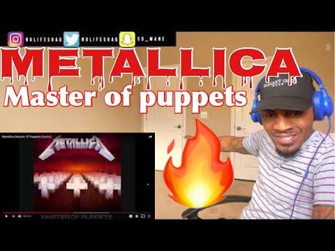 MetallicaMaster Of Puppets  REACTION