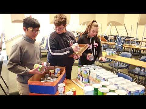 Jinks food donation
