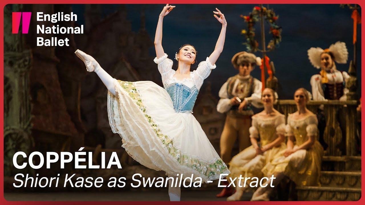 Coppélia: Shiori Kase as Swanilda (extract) | English National Ballet