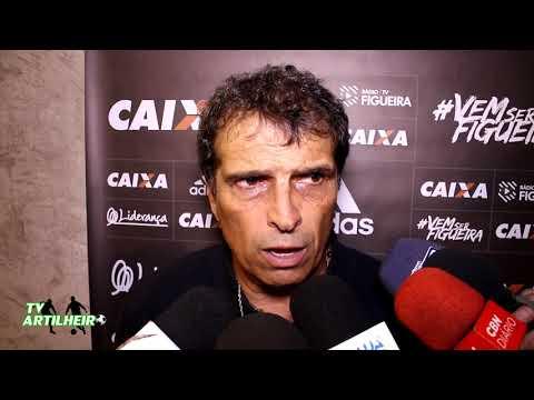 [Série B '17] Coletiva Milton Cruz   Pós-jogo Ceará SC 2 X 2 Figueirense FC   TV ARTILHEIRO