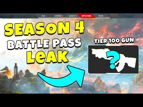 *NEW* SEASON 4 TIER 100 SKIN LEAKED?! - NEW Apex Legends Funny & Epic Moments #220