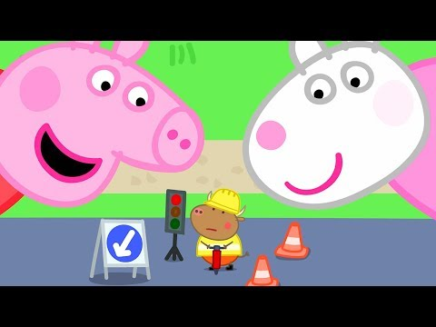 Peppa Pig Official Channel   Peppa Pig and Suzy Sheep are Visiting Tiny Land