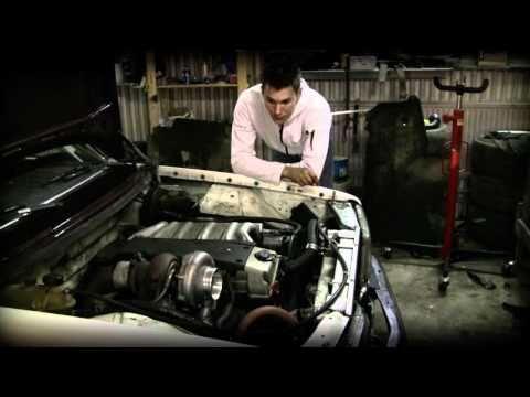 How to make a turbo diesel drift car out of a Mercedes estate wagon, Teemu Peltola