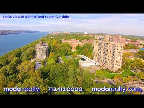Aerial Video of Riverdale, NY
