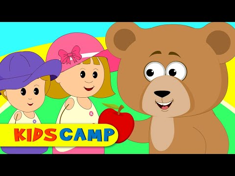 The Bear Went Over The Mountain | Nursery Rhymes | 60 Minutes Compilation from Kidscamp
