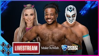 World Wish Day Charity Stream: Make-A-Wish & WWE (feat. Natalya & Sin Cara) – UpUpDownDown Streams