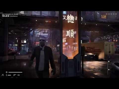 UE4. Cyberpunk streets. Work in progress.
