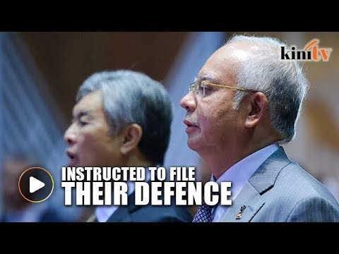 Najib and Zahid ordered to file defence over RM2.6b suit