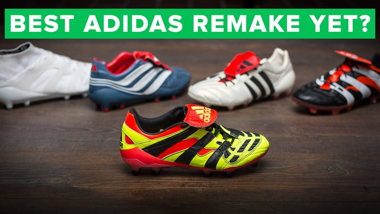 premium selection 5933d 91f6b Best adidas remake yet  Predator Accelerator Electricity 2018