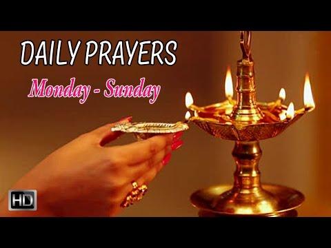 Daily Hindu Prayers & Mantras - Prayers for Everyday (Monday - Sunday) - Dr.R.Thiagarajan
