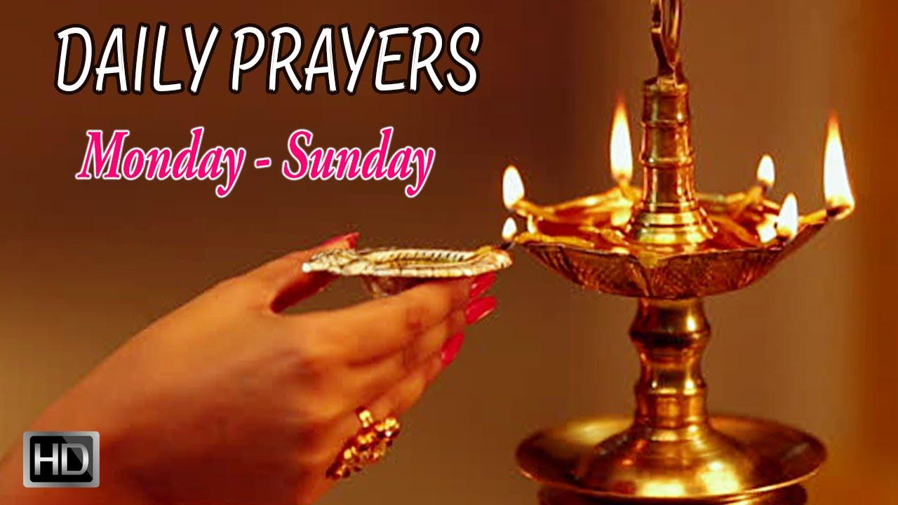 Daily Hindu Prayers & Mantras - Prayers for Everyday (Monday - Sunday) -  Dr R Thiagarajan