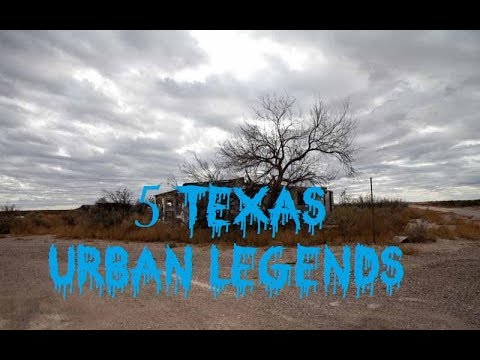 5 Texas Urban Legends