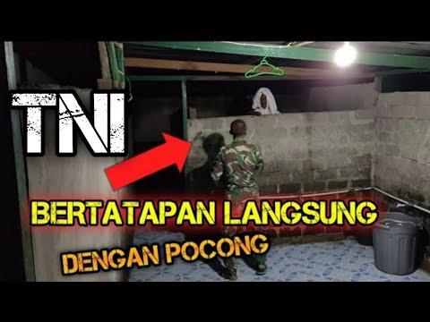 Nekat Prank Pocong Ke TNI Untuk Menguji Mental Perorangan