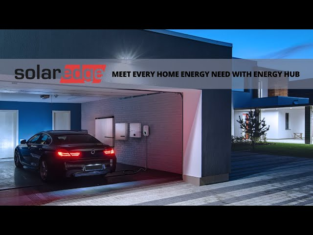 Meet Every Home Energy Need with Energy Hub | SolarEdge Inverter | Presented By Soligent