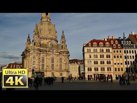 Dresden Innenstadt Deutschland - amazing 4k video uhd